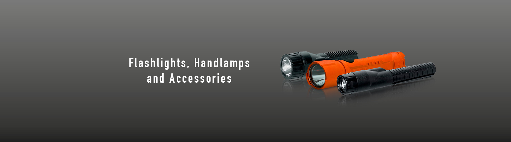 Flashlights, Handlamps and Accessories