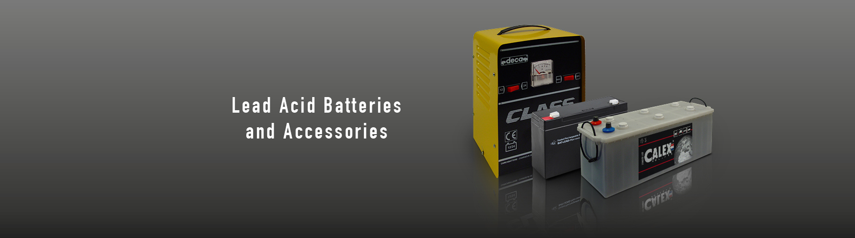 Lead Acid Batteries and Accessories